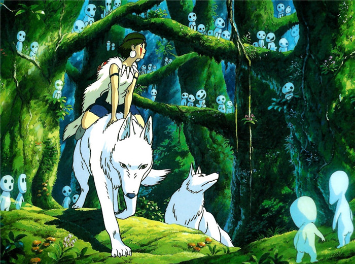 当旋律响起……天空之城,幽灵公主,千与千寻的空灵旋律;龙猫巴士,悬崖