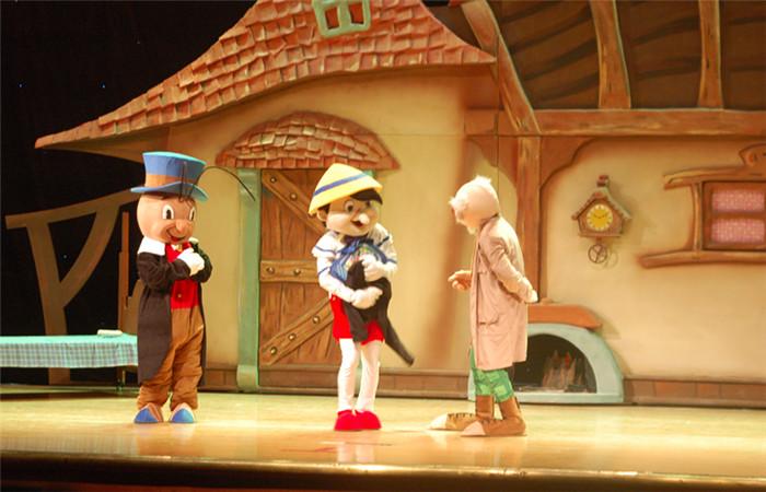 【免费】儿童舞台剧《木偶奇遇记》