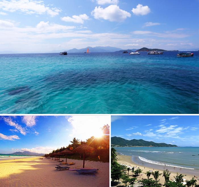 """21:00  搭乘飞机飞往越南有""""东方马尔代夫""""之称的海滨城市—芽庄"""