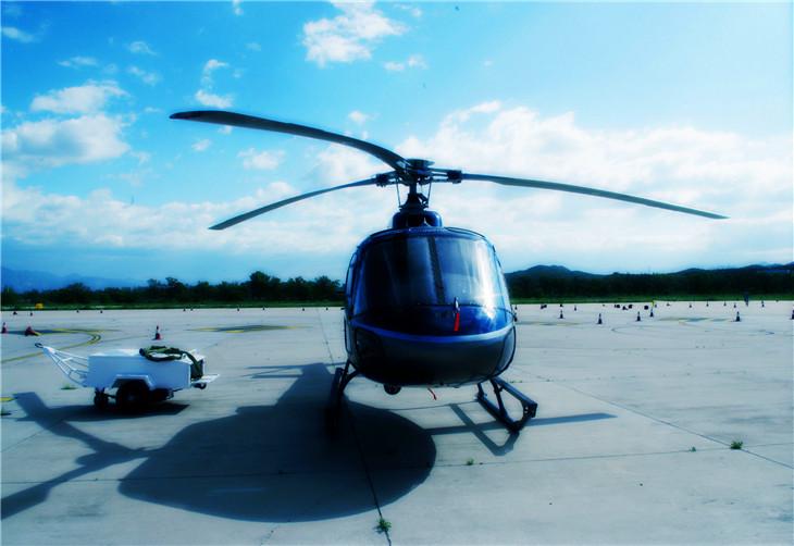 """多种机型:首航直升机现拥有 空客 """"小松鼠""""as350b3, 空客ec135"""
