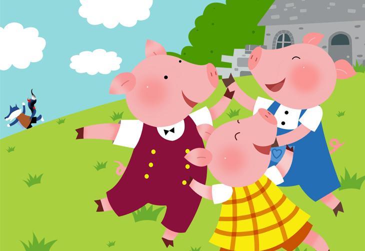 【3.5折】励志儿童剧《三只小猪》