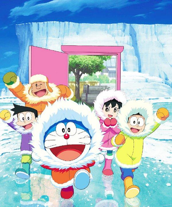 哆啦A梦南极大冒险主题展图片